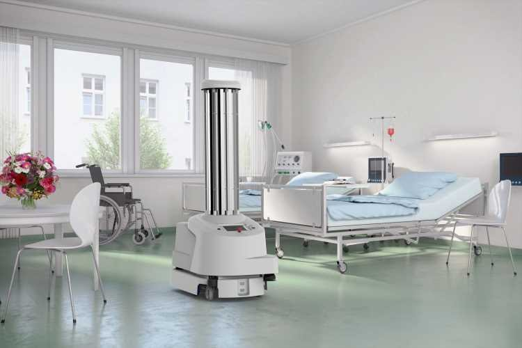 Disinfection systems innovation and technology sanitation robot for Humanitrack Epidemic Response Quest